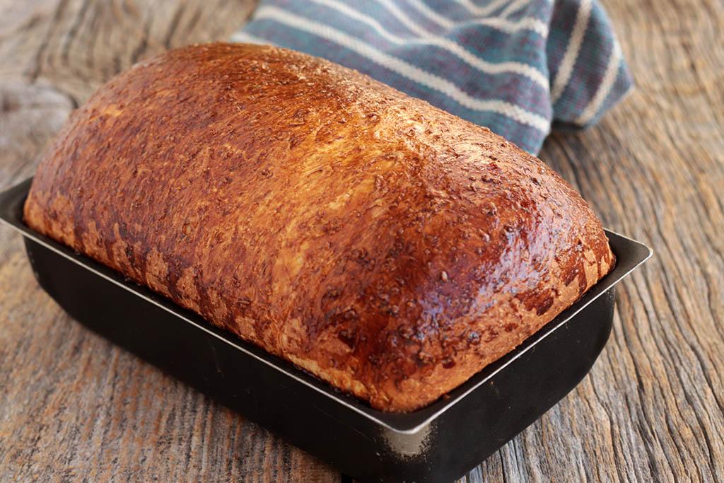 Pão de coco fofinho - Uma receita deliciosa