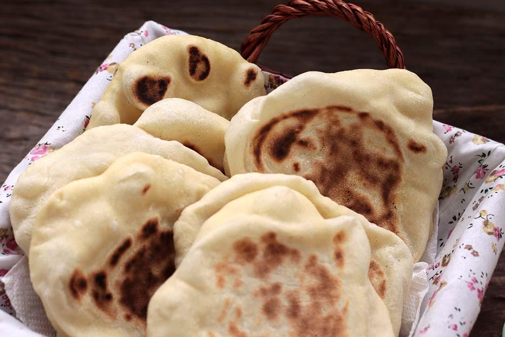 Pão Sírio | Pão pita ou pão árabe caseiro
