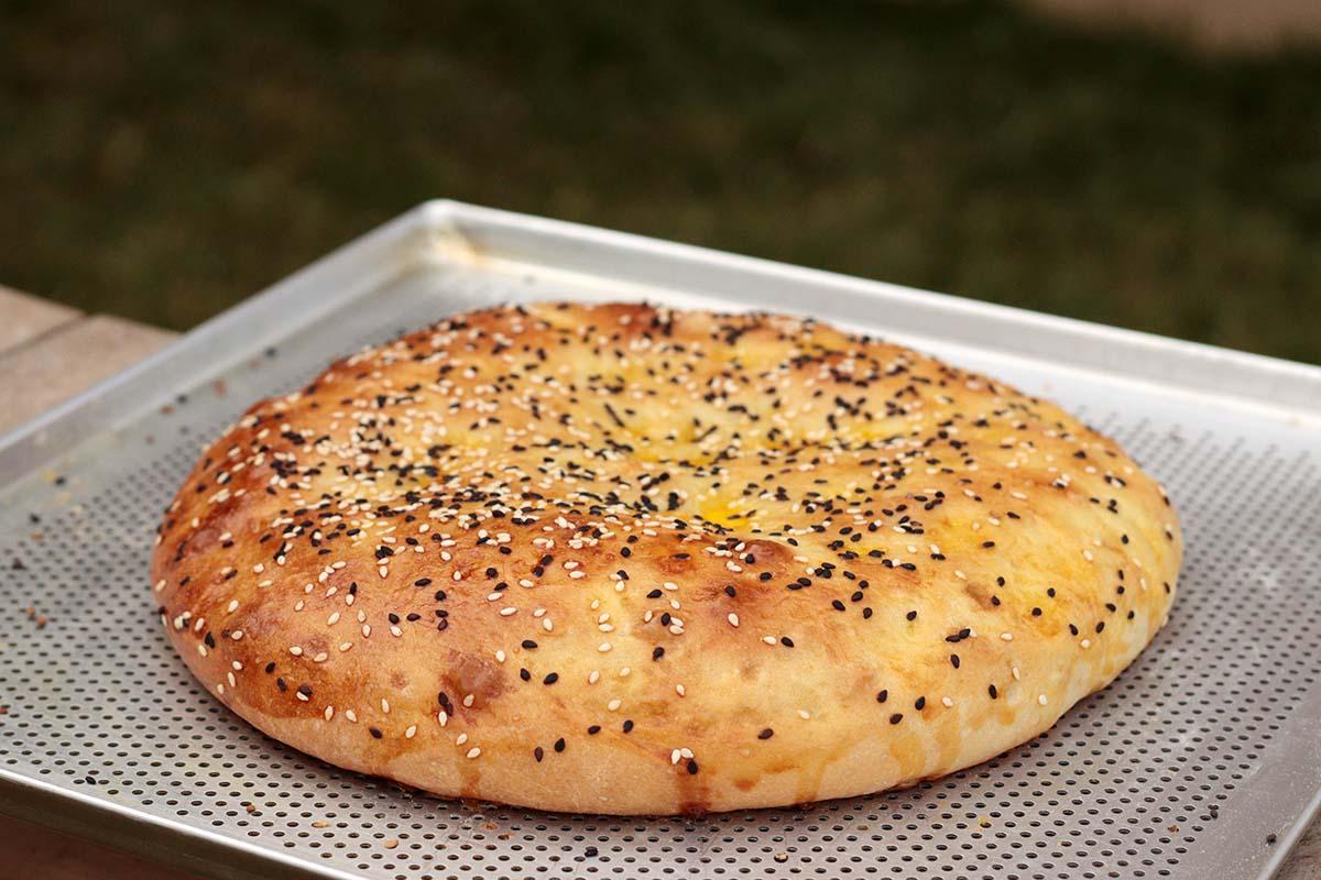 Pão turco - Ramazan Pidesi