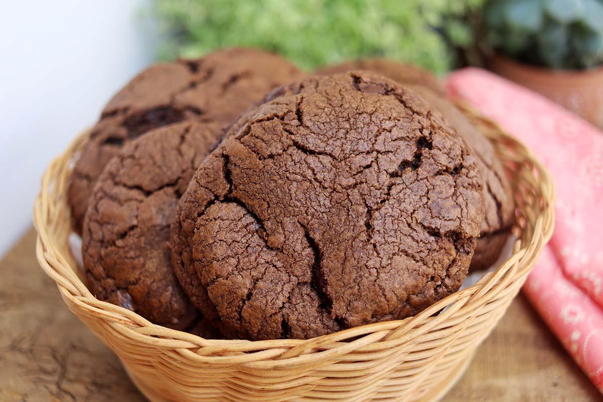 Cookie de chocolate perfeito, a melhor receita de cookies